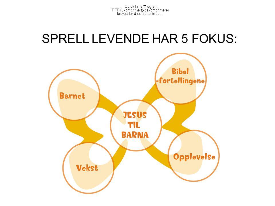 SPRELL LEVENDE HAR 5 FOKUS: