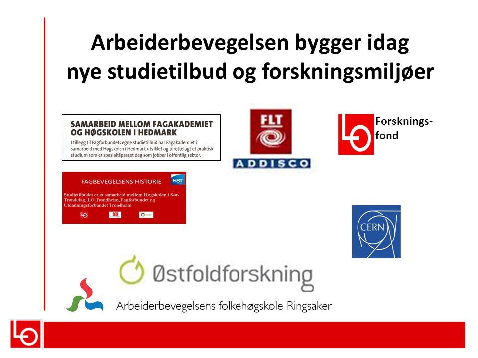 LOs forskningspolitikk – om forskningsinstituttene Forskningsinstituttene: Instituttsektoren er viktig for å innfri forskningspolitiske mål.