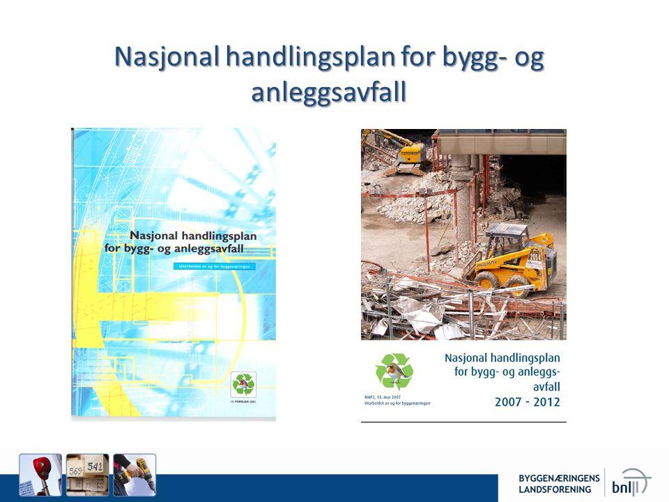Nasjonal handlingsplan for bygg- og anleggsavfall