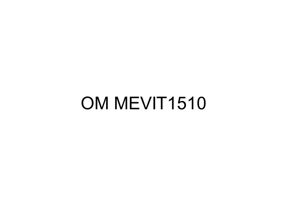 OM MEVIT1510