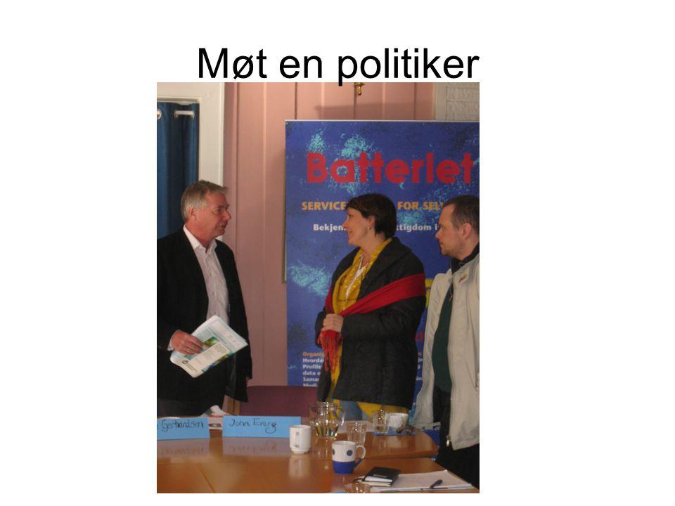 Møt en politiker