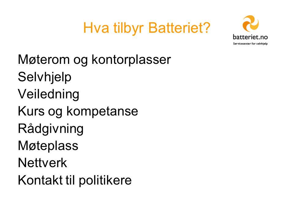Hva tilbyr Batteriet.