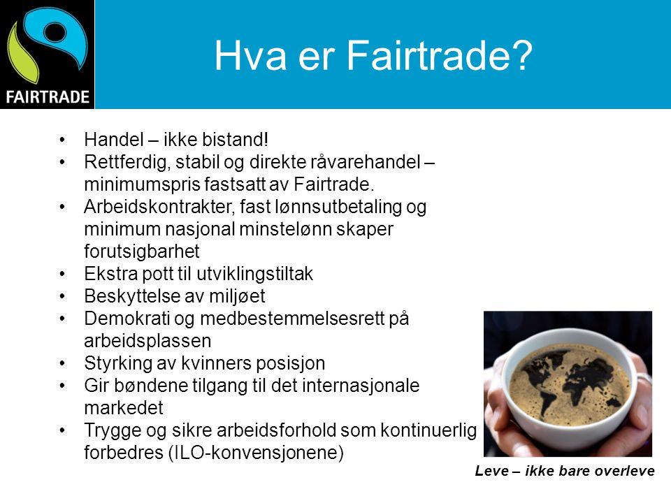 Hva er Fairtrade?