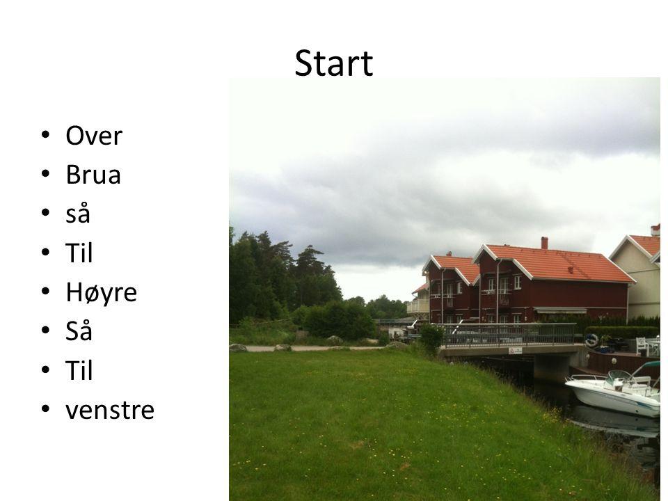 Start Over Brua så Til Høyre Så Til venstre