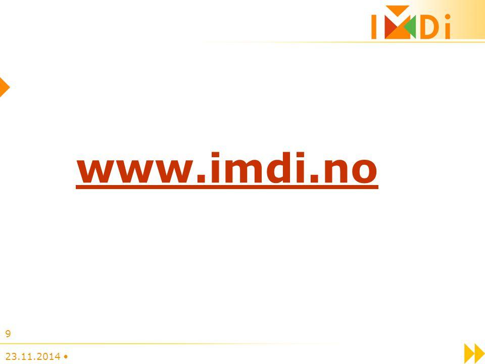 23.11.2014 9 www.imdi.no