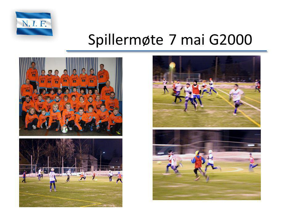 Spillermøte 7 mai G2000