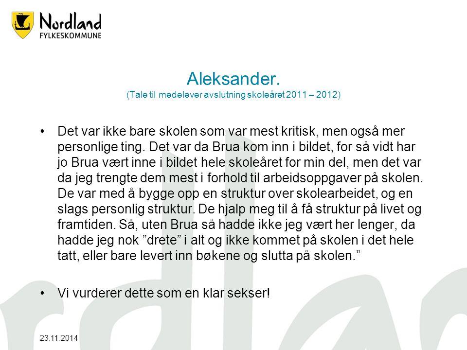 23.11.2014 Aleksander.