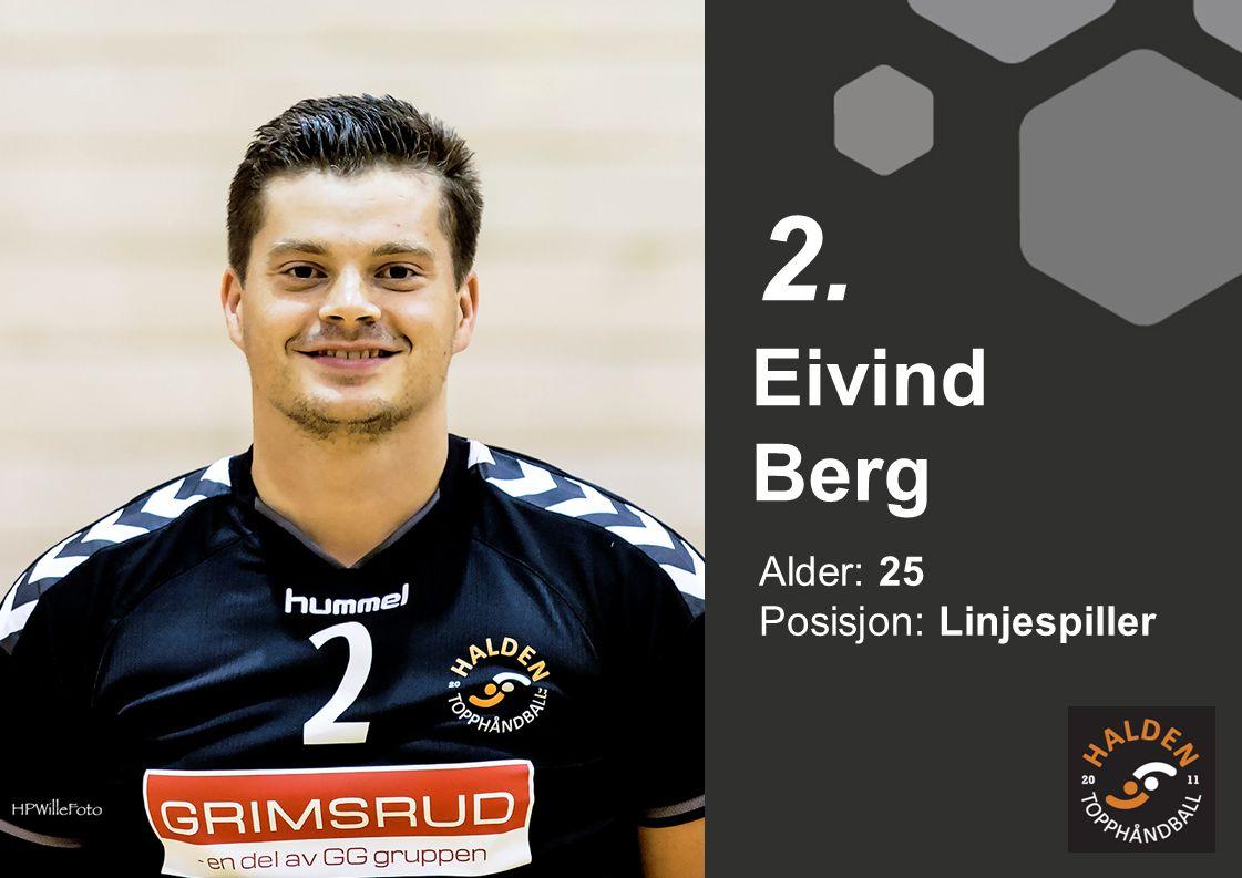 Alder: 25 Posisjon: Bakspiller Mads Fredriksen 34.