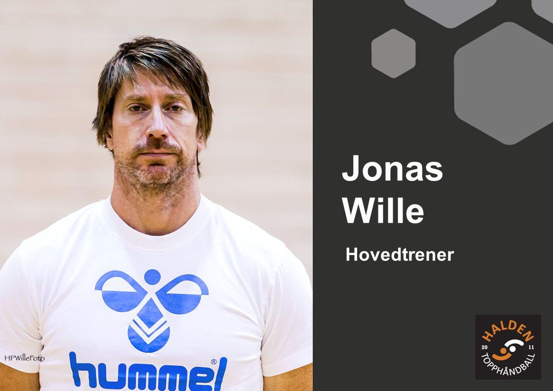 Hovedtrener Jonas Wille