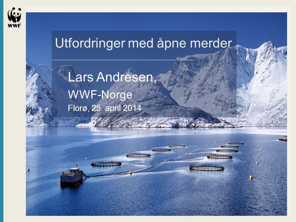 Utfordringer med åpne merder Lars Andresen, WWF-Norge Florø, 25. april 2014