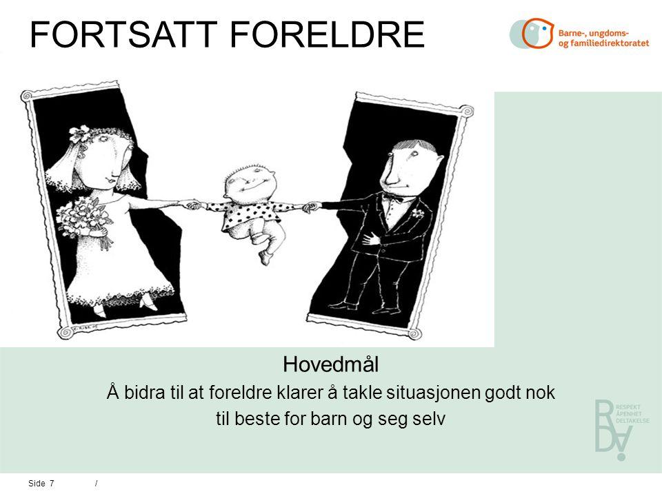 Side 8 / HVORFOR EN STATLIG OPPGAVE Å FOREBYGGE.