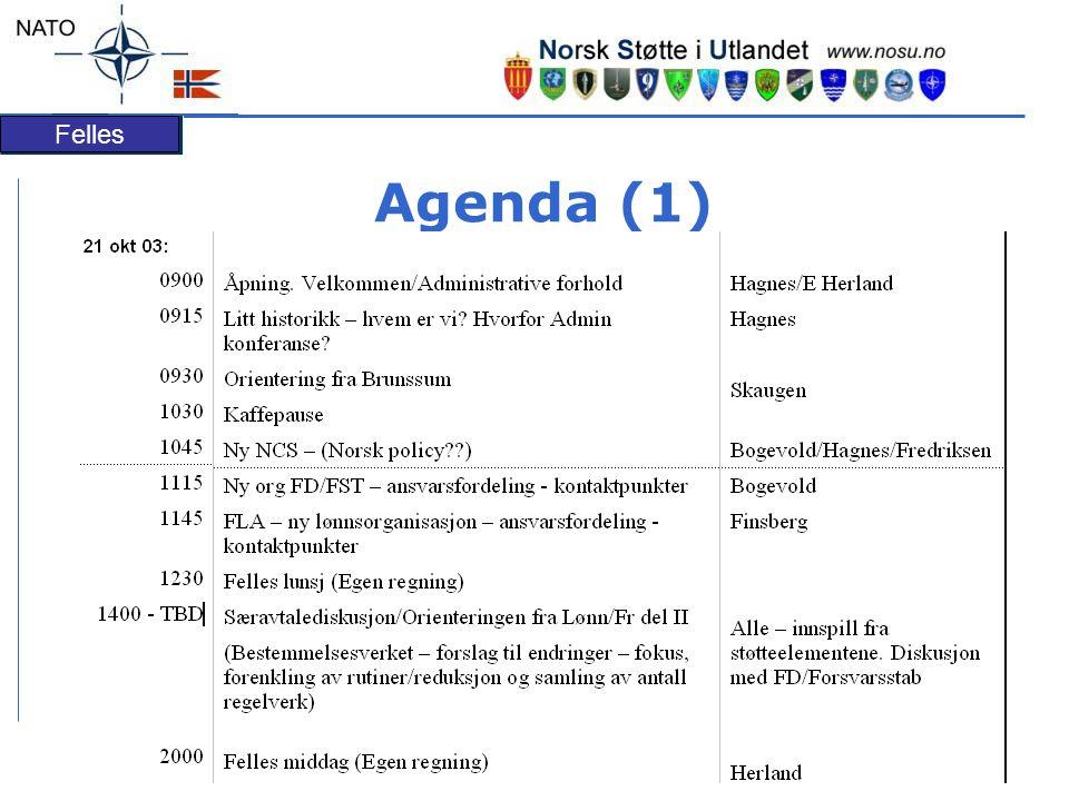 Felles Agenda (1)