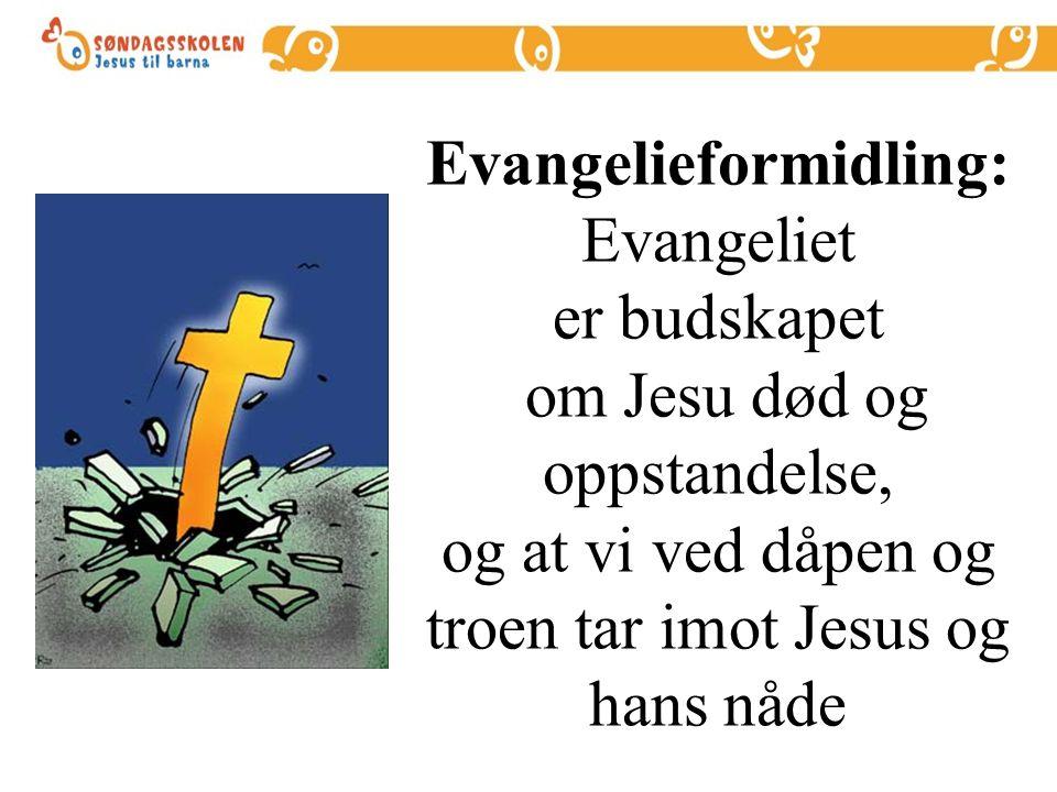 Vitnesbyrdet om: JESUS KRISTUS GUDS SØNN VÅR FRELSER