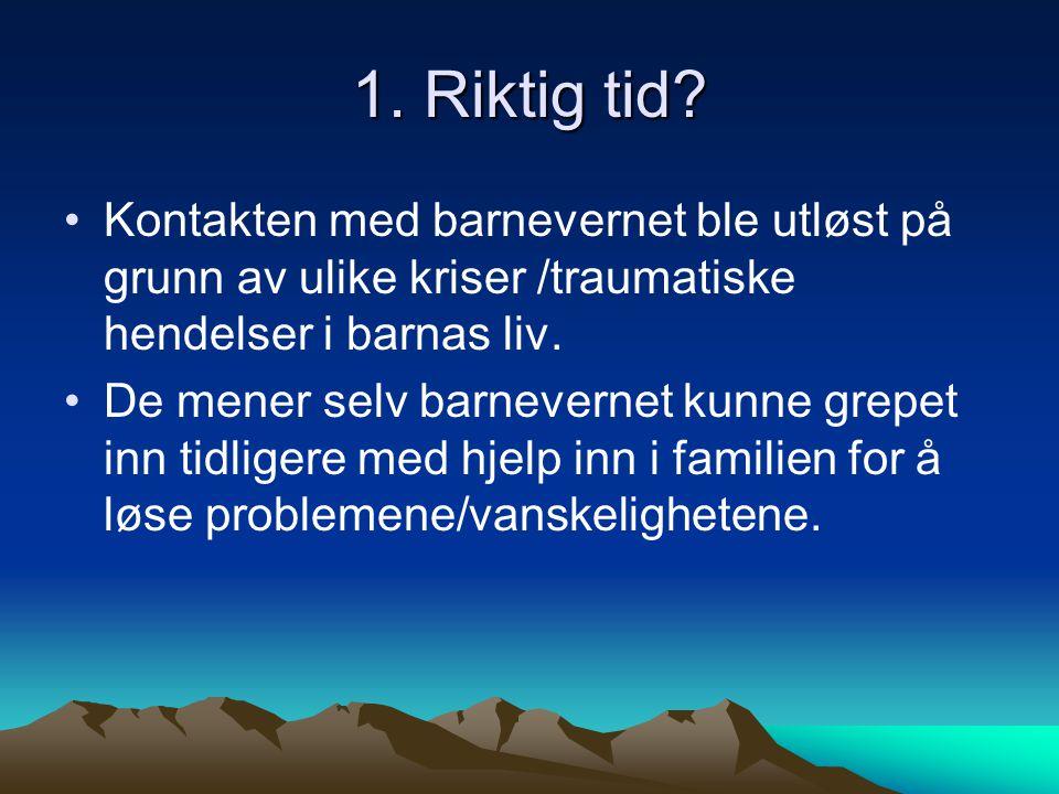 Samisk innhold - samisk oppvekst.