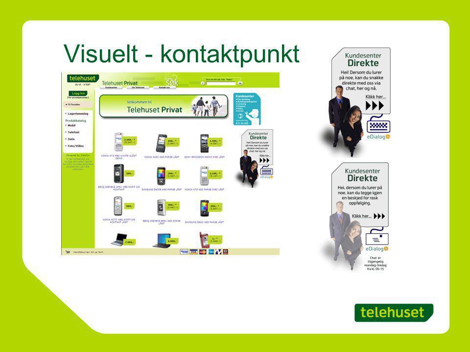Visuelt - kontaktpunkt
