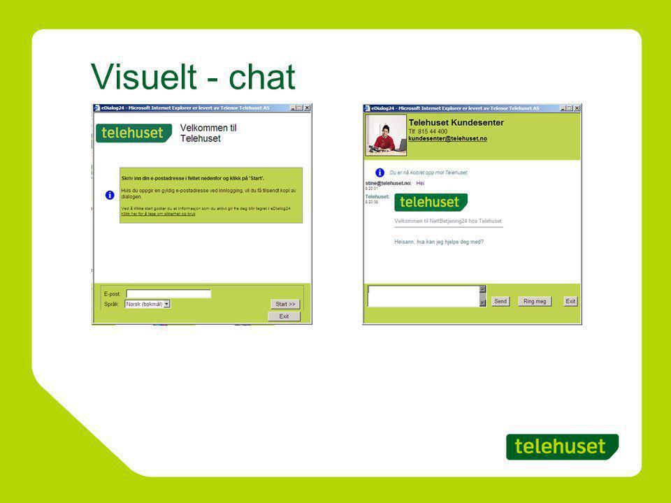 Visuelt - chat