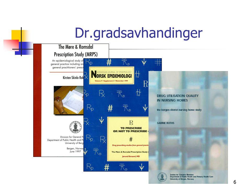 6 Dr.gradsavhandinger