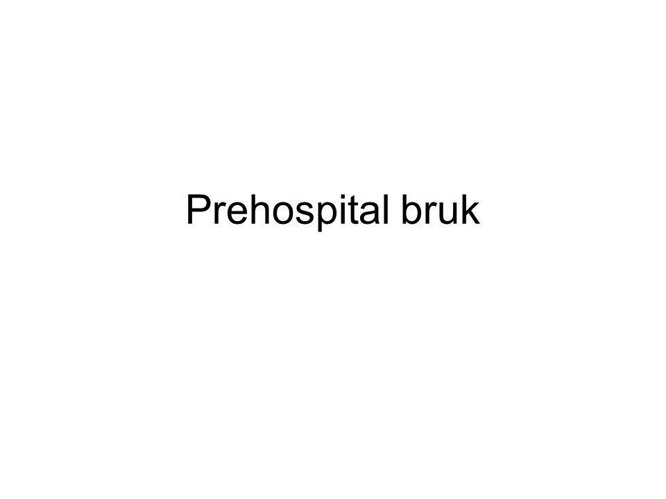 Prehospital bruk
