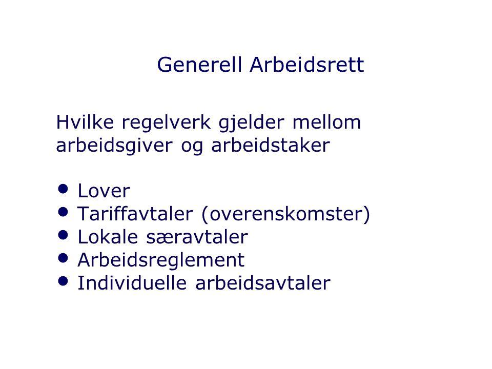 Lokale særavtaler Hovedavtalen kap.