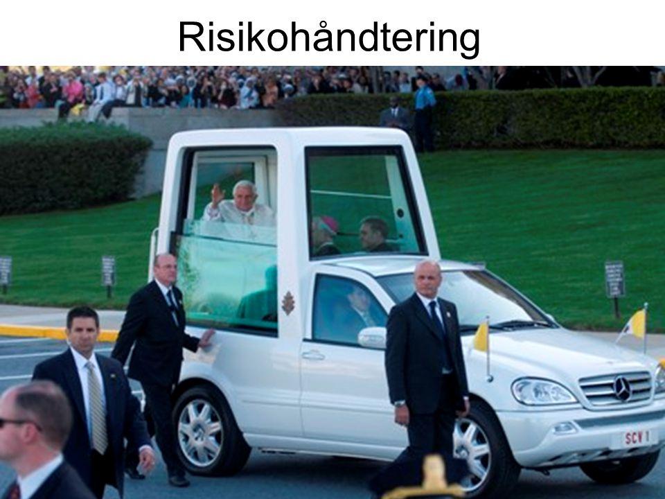 Risikohåndtering Bilde av popemobile