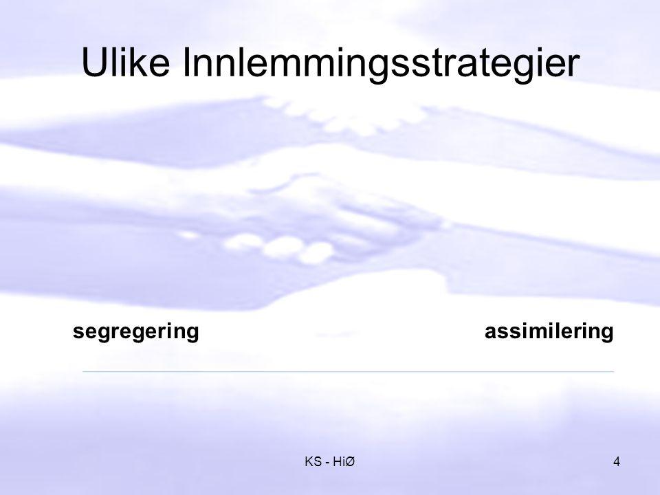 Å forstå og bli forstått KS - HiØ15