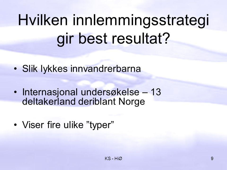 Den diffuse typen Verst ute å kjøre er den diffuse typen - som verken kjenner seg hjemme i foreldrenes kultur - eller i den norske.
