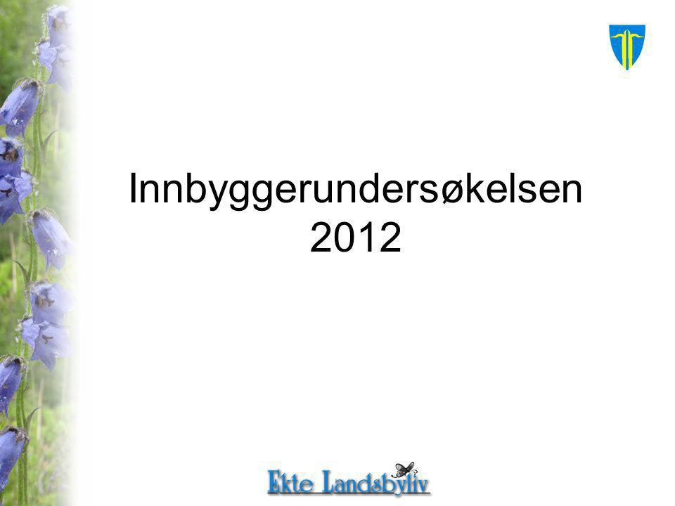 Innbyggerundersøkelsen 2012
