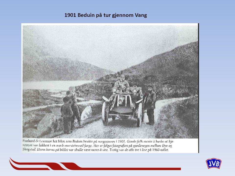 1901 Beduin på tur gjennom Vang