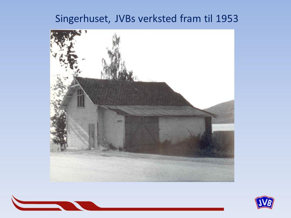 Singerhuset, JVBs verksted fram til 1953