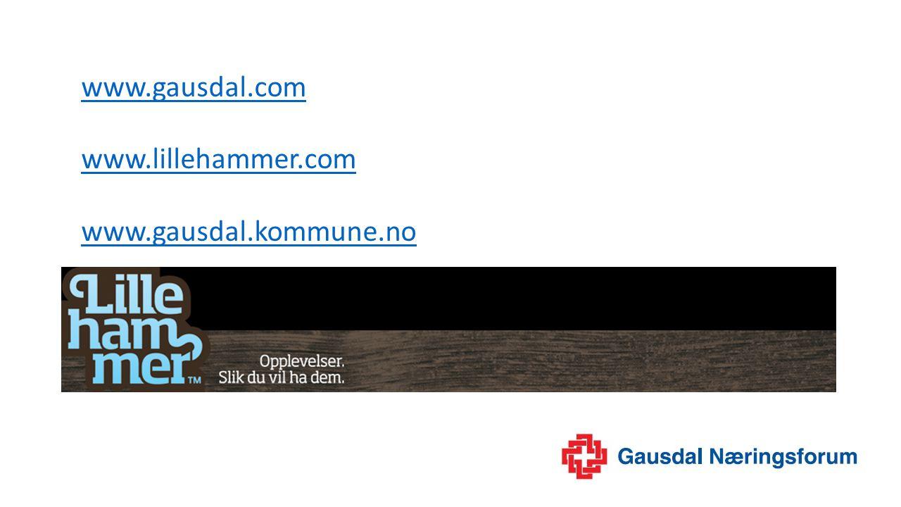 www.gausdal.com www.lillehammer.com www.gausdal.kommune.no