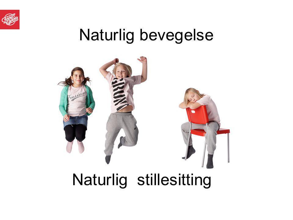 Naturlig bevegelse Naturlig stillesitting