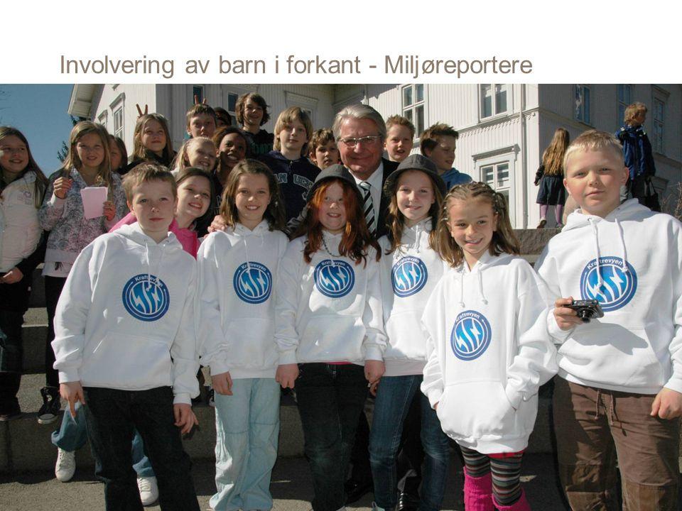 Involvering av barn i forkant - Miljøreportere