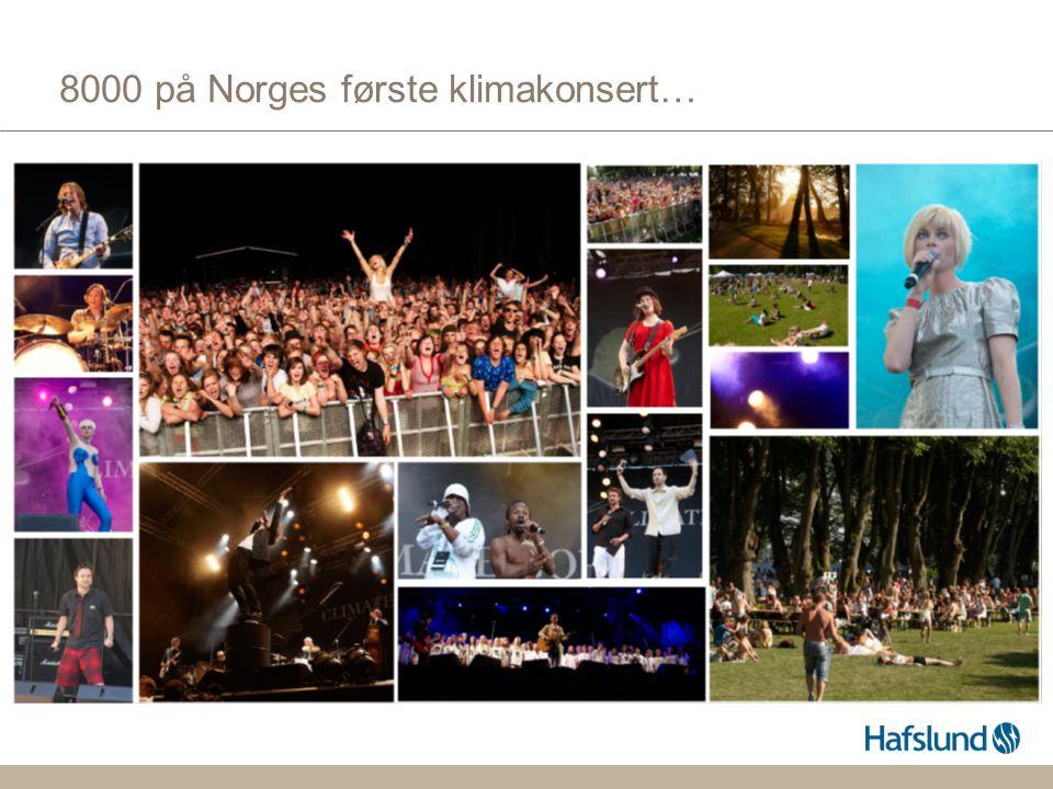 8000 på Norges første klimakonsert…