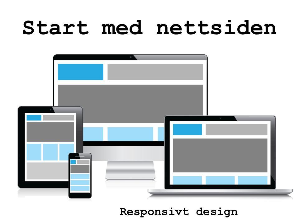 Responsivt design