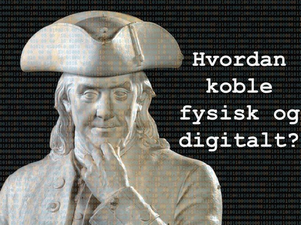 Hvordan koble fysisk og digitalt