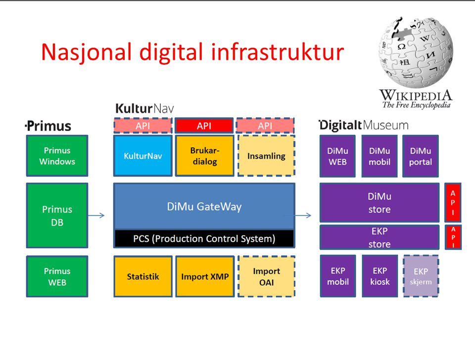 Nasjonal digital infrastruktur