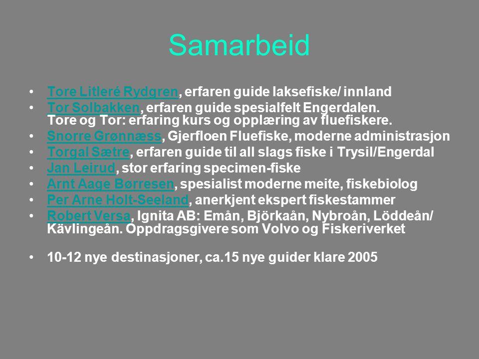 Samarbeid Tore Litleré Rydgren, erfaren guide laksefiske/ innlandTore Litleré Rydgren Tor Solbakken, erfaren guide spesialfelt Engerdalen.