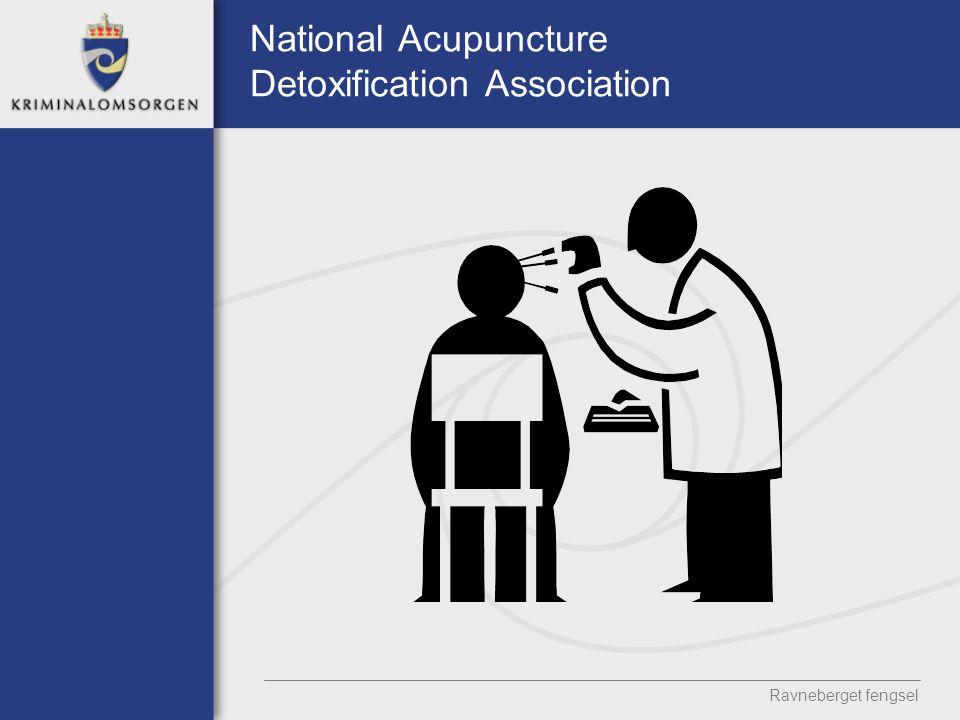 National Acupuncture Detoxification Association Ravneberget fengsel