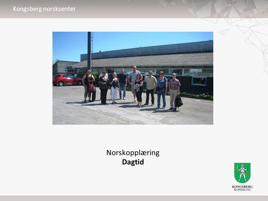 Norskopplæring Dagtid Kongsberg norsksenter