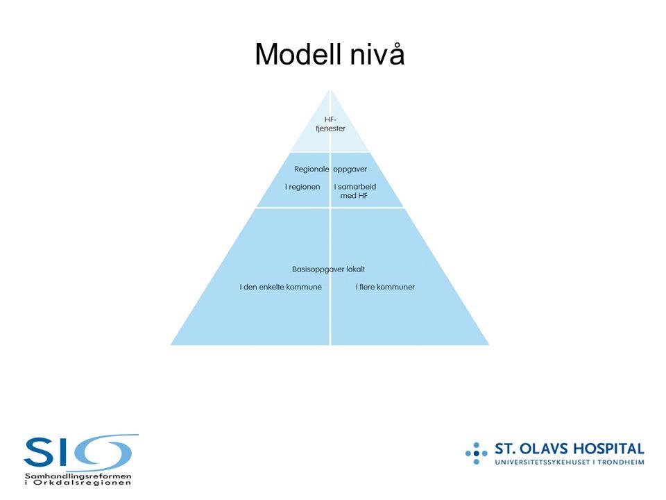 Modell nivå