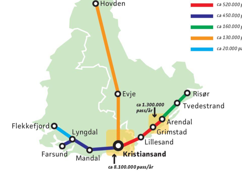 Ambisjonsnivå Lage et konsept som kan levere en flerdobling av kapasiteten langs de viktigste reisestrømmene sentralt i byområdene.