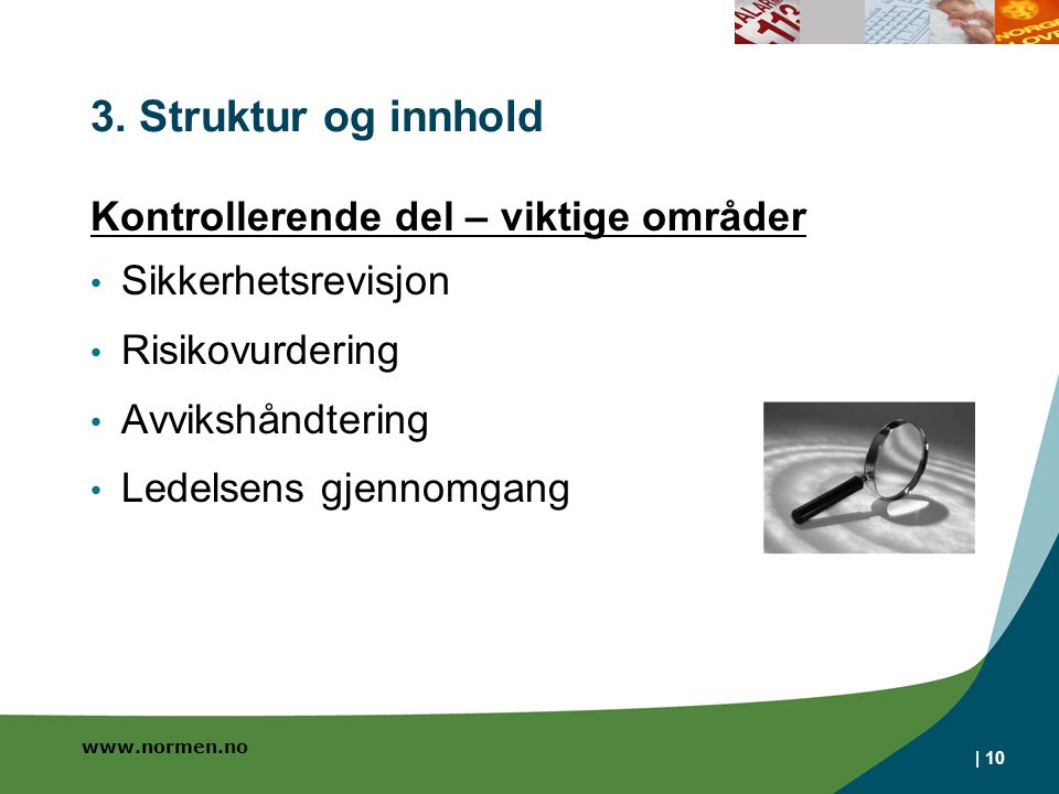 www.normen.no | 10 3.