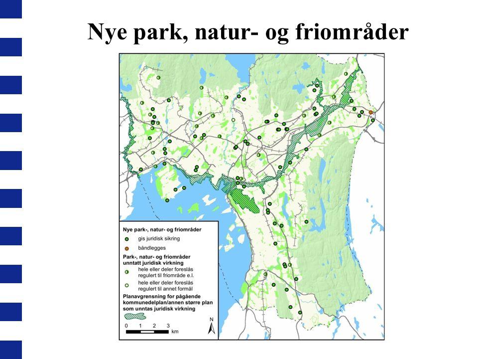 Nye park, natur- og friområder