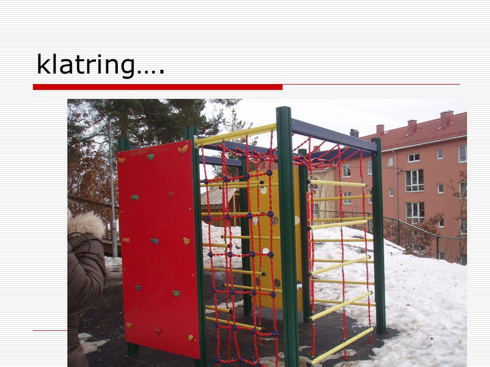 Lekesteder utendørs  Tenk på et sted du lekte mye som barn  Kan vi gi barn slike lekesteder i dag.