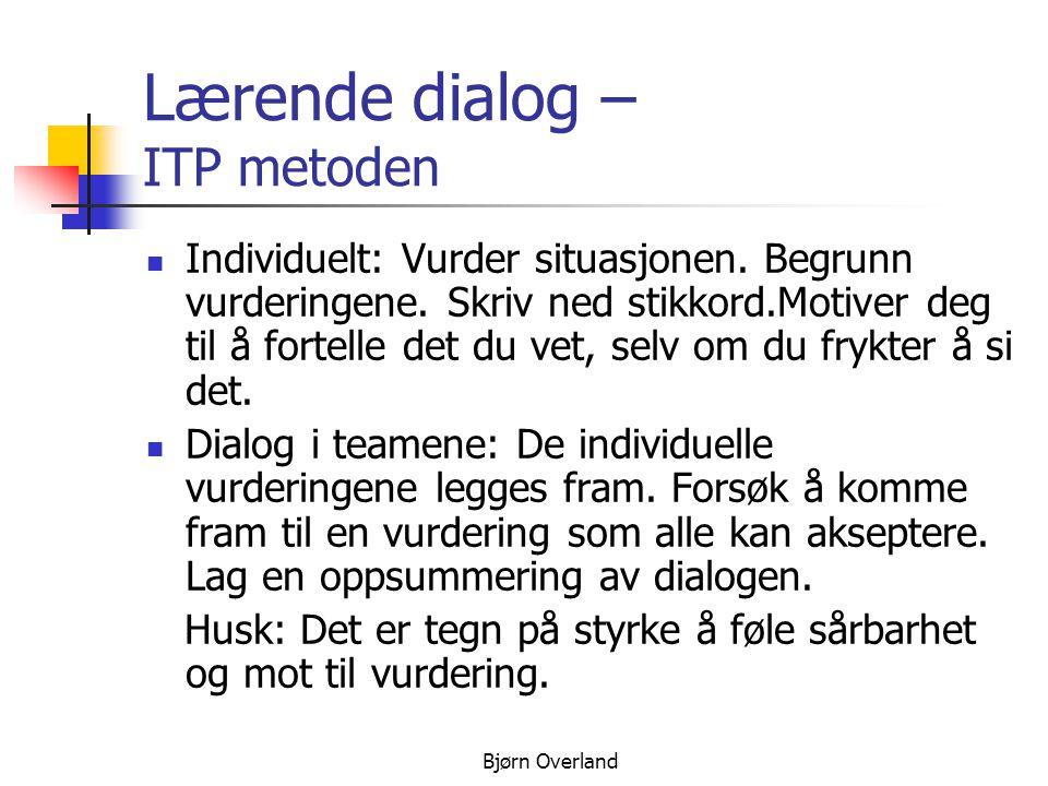 Bjørn Overland Dialog i plenum: Teamene legger fram sine vurderinger.