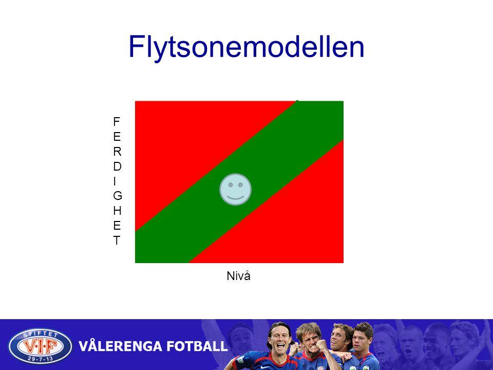 Flytsonemodellen Nivå FERDIGHETFERDIGHET