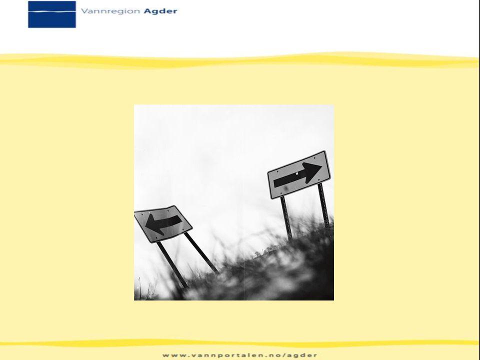 November 2012: Innspill fra Vannregion Agder Mener innspillet det blir bedt om er med på å foregripe arbeidet i Vannregionen med for lite tid til å sikre god medvirkning Vannregion Agder ga ikke innspill