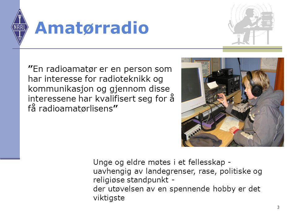 4 Prate Radio Ved hjelp av radio oppnår man kontakter med andre radioamatører verden over Skaff deg radio-venner hvor som helst i verden Delta i konkurranser mot og med andre radioamatører Eller kanskje prate med folk i verdensrommet…