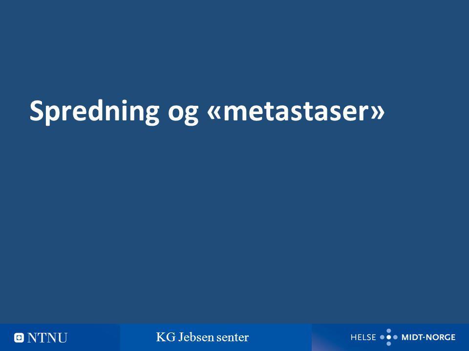 5 Hvor vanlig er myelomatose 7-8 nye tilfelle pr 100 000 innbyggere pr år Trondheim: ca 15 nye tilfelle pr år Myelomatose er den vanligste av kreftsykdommene i blodet KG Jebsen senter
