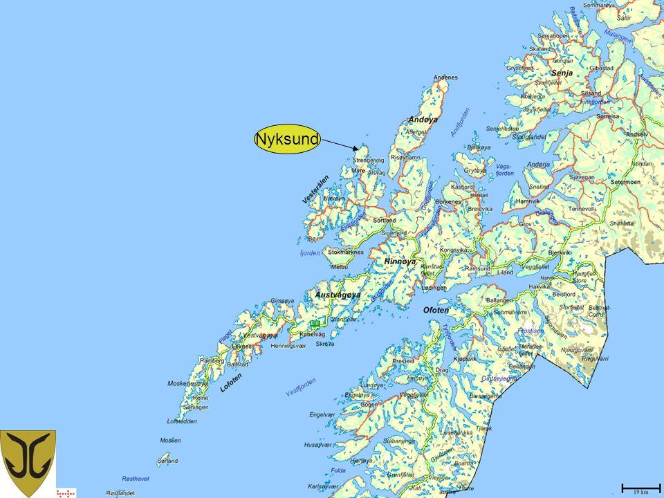 nyksund kart Den verdifulle kystkulturen i Øksnes – Kystkultur på Yttersia  nyksund kart